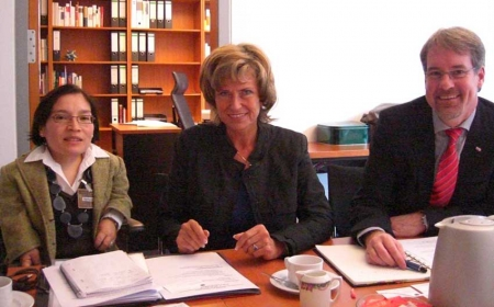 Dagmar Wöhrl trifft Christoffel-Blindenmission. Dagmar Wöhrl - 29. Januar 2011.