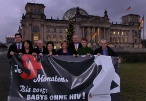 """Dagmar Wöhrl unterstützt """"In 9 Monaten"""" – Aktionsbündnis gegen AIDS"""