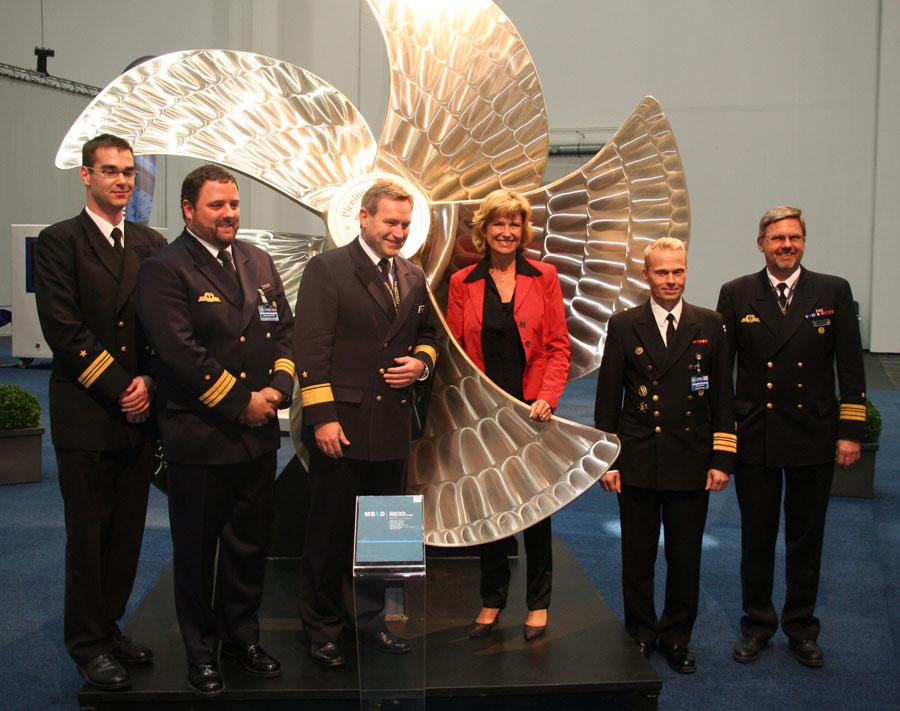 30. September 2009 Dagmar Wöhrl @ Maritime Security and Defence in Hamburg
