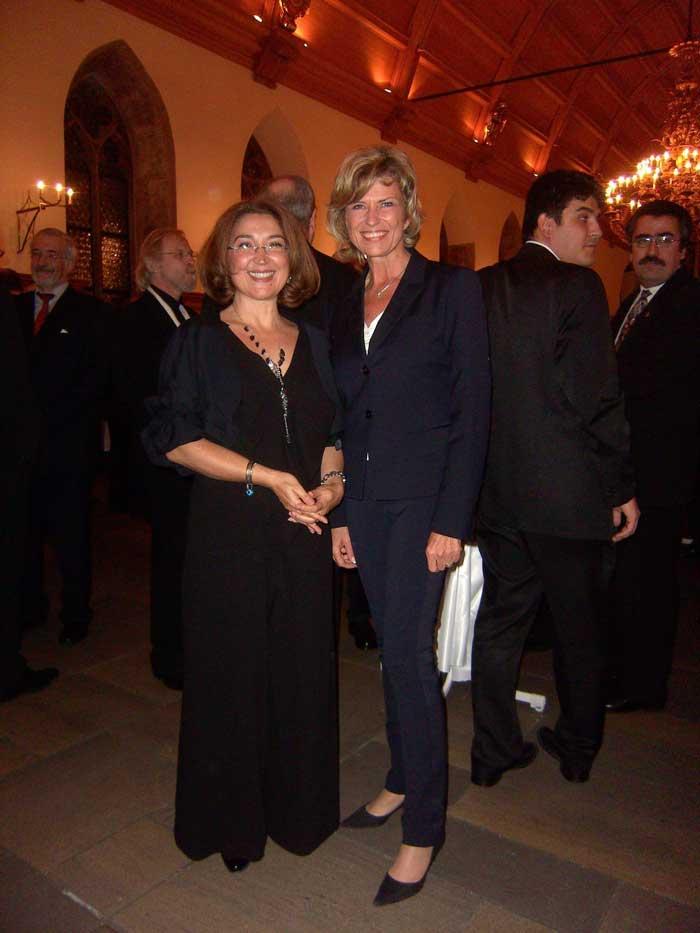 Dagmar Wöhrl - 29. Oktober 2009 Dagmar Wöhrl & Generalkonsulin Frau Öztürk Cil