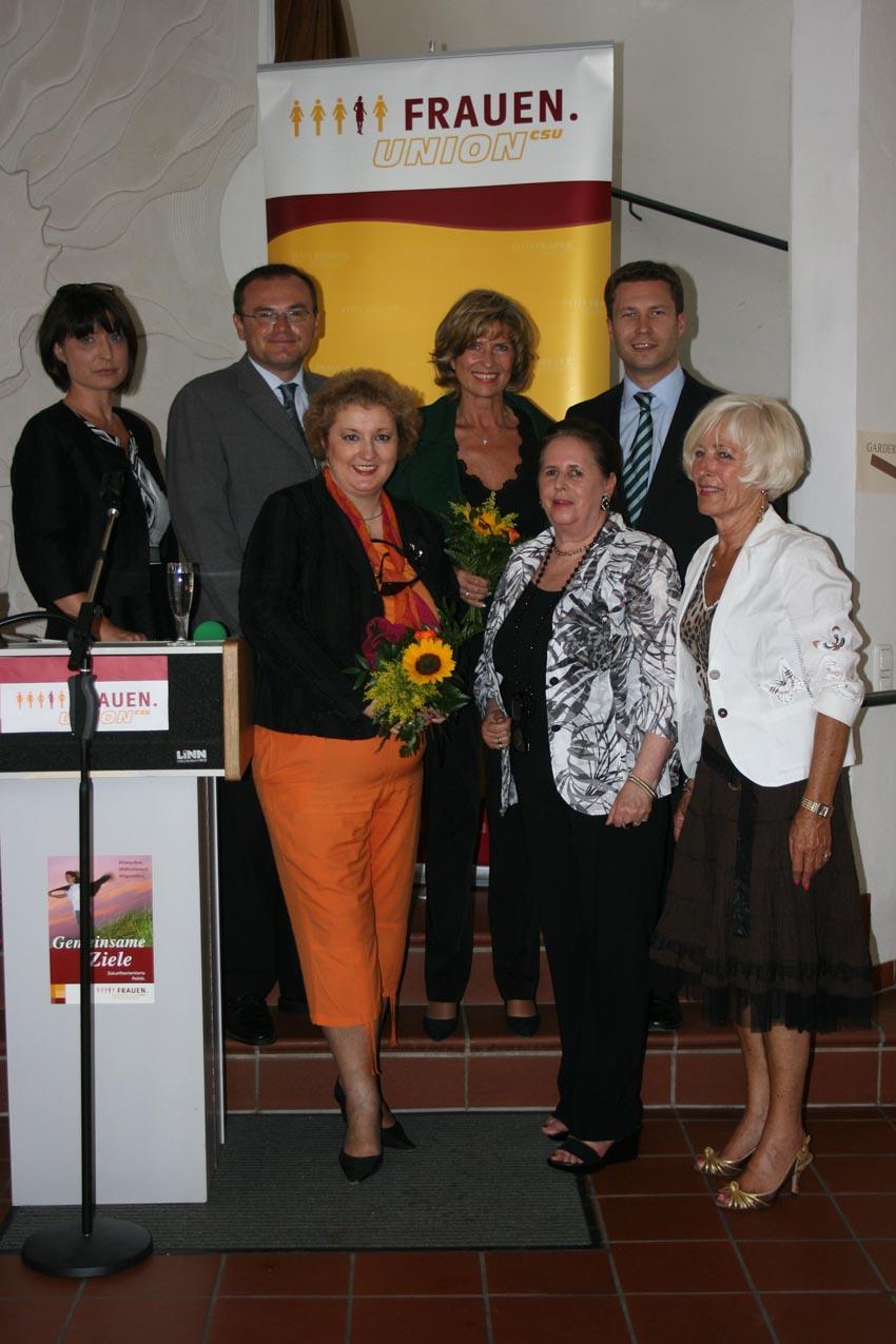 Grußwort zum Jahresempfang der Frauen-Union KV Fürth-Land am 12. Juni 2010, 16.00 Uhr im Alten Rathaus, Langenzenn