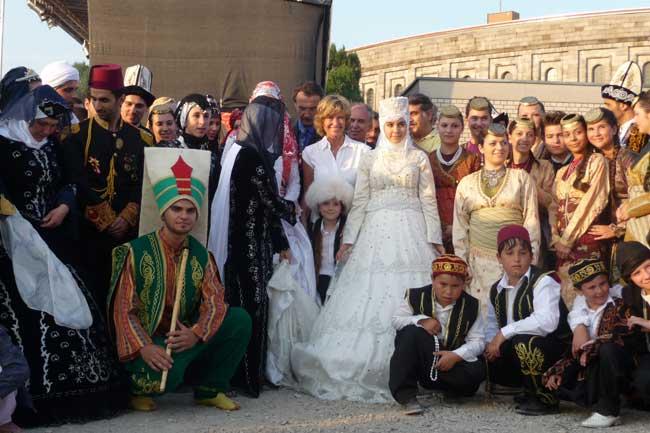 Dagmar Wöhrl besucht türkisches Sommerfest. Dagmar Wöhrl - 10. Juli - Nürnberg