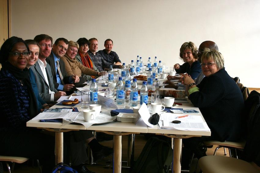Wöhrls Runder Tisch zum Thema Welternährung. Dagmar Wöhrl - 8. November - Nürnberg