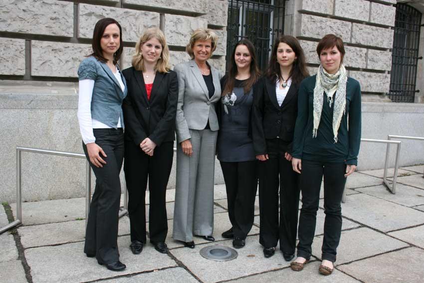 Girls Day einmal anders. Dagmar Wöhrl - 15. März 2011 - Berlin