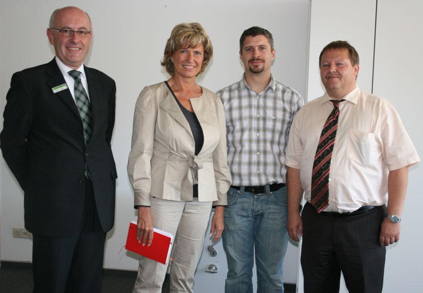 Gespräche mit Betriebsrat und Geschäftsleitung am 27. Juni 2011