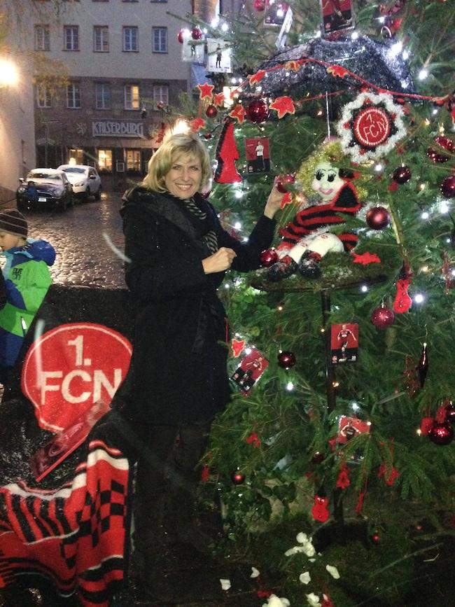 06. Dezember 2013 - Der FCM Christbaum 2013