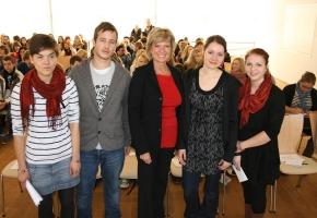 """Junge Menschen """"weltwärts"""" schicken – MdB Dagmar G. Wöhrl, 28. November 2011"""