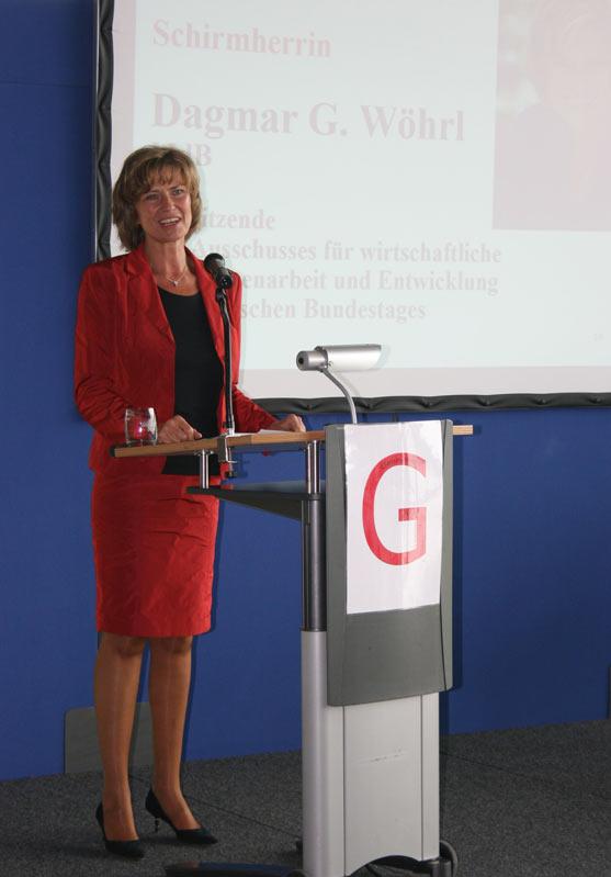 Dagmar Wöhrl Grußwort zum 10-jährigen Jubiläum von Genefrank