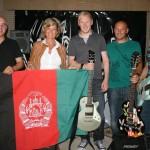 """Nürnberger Rockband """"M*Bates"""" spielt für Soldaten in Afghanistan – Treffen mit Unterstützerin MdB Dagmar G. Wöhrl. 19.07.2011"""