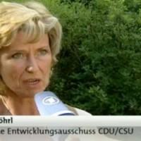 Dagmar G. Wöhrl im ARD Morgenmagazin vom 3. August 2011