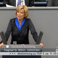 Dagmar Wöhrl im Bundestag, 10.05.2012