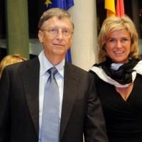 Dagmar Wöhrl und Bilgates, Entwicklungsausschuss des Deutschen Bundestags, Januar 2013