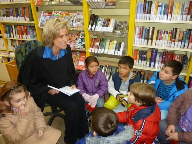 dagmar-woehrl-engagement-Martha-Maria-Stiftung-Vorlesetag Thusneldaschule