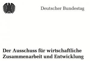 Dagmar-Woehrl-Ausschuss-wirtschaftliche-Zusammenarbeit-und-Entwicklung-im-Deutschen-Bundestag-AWZ-Logo