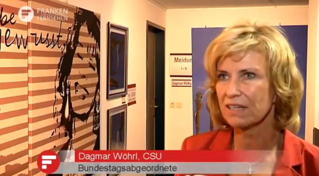 20130911-Dagmar-Woehrl-Frankenfernsehen-Wirtschaftspolitik