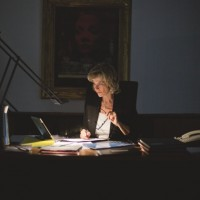 Dagmar Wöhrl Schreibtisch
