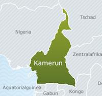 MdB Wöhrl setzt sich bei kamerunischem Botschafter in Berlin gegen Palmölplantagen von der US-Firma Herakles Farms in Kamerun ein.