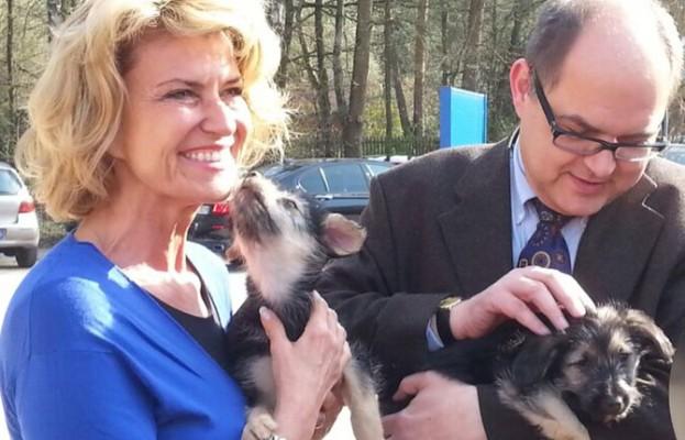 Dagmar Wöhrl und Bundeslandwirtschaftsminister Christian Schmidt zu illegalen Tiertransporten