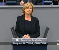 """Dagmar Wöhrl spricht im Bundestag zu """"Erinnerung und Gedenken an die Opfer des Völkermordes in Ruanda 1994"""" ( 27. Sitzung vom 04.04.2014)"""