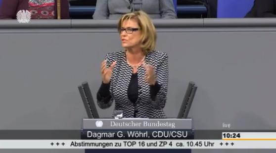"""Dagmar Wöhrl spricht im Bundestag zum Aktionsplan """"Zivile Krisenprävention, Konfliktlösung und Friedenskonsolidierung"""" (86. Sitzung vom 06.02.2015)"""