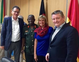Dauerhafte Unterstützung für Ebola-Gebiete. MdB Wöhrl reist zusammen mit den Bundesministern Müller und Gröhe nach Ghana und Liberia