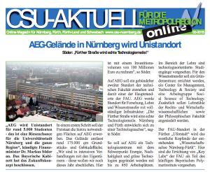 CSU Aktuell Nürnberg Fürth PDF Download