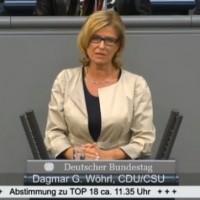 """Dagmar Wöhrl spricht im Bundestag zum Thema """"Deutsche humanitäre Hilfe im Ausland 2010/2013"""" (86. Sitzung vom 06.02.2015)"""