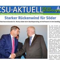 CSU-AKTUELL online Magazin für Nürnberg, Fürth, Fürth-Land und Schwabach #07-2015