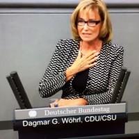 Dagmar Wöhrl Rede im Plenum Bundestag zur Flüchtlingskrise