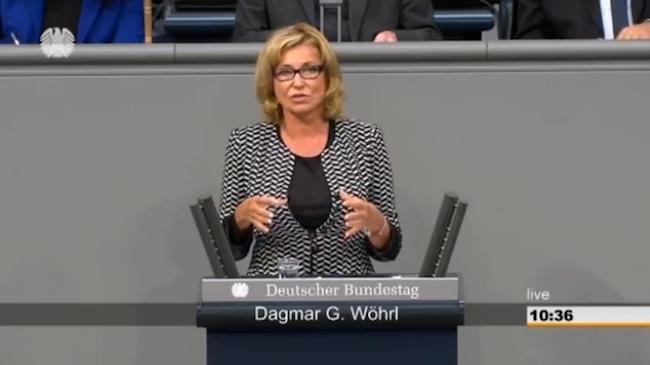 Dagmar Wöhrl spricht im Bundestag zur Sterbebegleitung (134. Sitzung vom 06.11.2015)