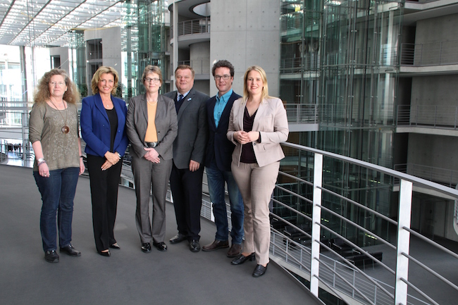 Dagmar G. Wöhrl - Christina Jantz-Herrmann - Nicole Maisch - Birgit Menz Parlamentskreis Tierschutz des Deutschen Bundestages