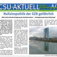 CSU-AKTUELL online Magazin für Nürnberg, Fürth, Fürth-Land und Schwabach #05-2016